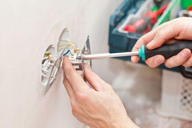 Замена и монтаж электропроводки, розеток и выключателей, электрощитов